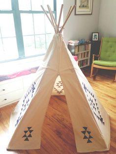 25 DIY teepees
