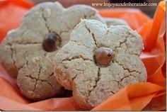 Ghribia aux cacahuètes - Les Joyaux de Sherazade