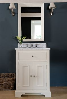 Neptune Bathroom Washstands - Chichester Undermount Washstand with marble top taps not included. Neptune Bathroom, Neptune Home, Bathroom Basin, Pedestal Basin, Vanity Basin, Downstairs Cloakroom, Downstairs Toilet, Bathroom Inspiration, Bathroom Ideas