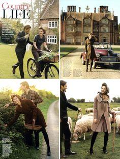 We love this British themed shoot.