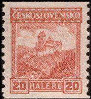 Znaczek: Karlův Týn (Czechosłowacja) (Castles, landscapes and cities) Mi:CS 245B,Sn:CS 123,Yt:CS 221,AFA:CS 111,POF:CS 209
