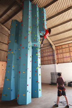 In home climbing wall