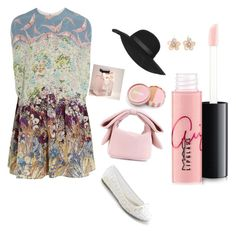 """""""Untitled #22"""" by hm1491460 on Polyvore featuring Valentino, Simone Rocha, Topshop, jane, Abercrombie & Fitch, MAC Cosmetics, Mixit, women's clothing, women and female"""