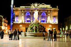 Montpellier Place de la comédie by night - � Cécil Mathieu