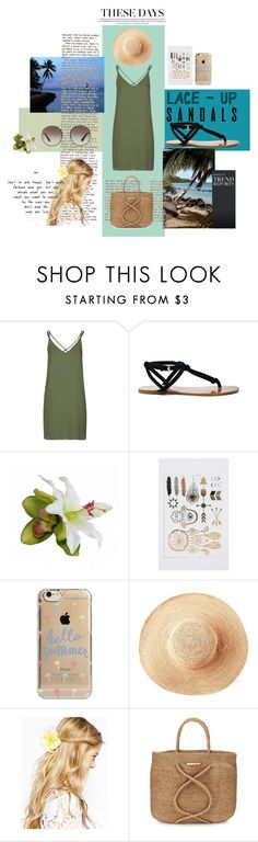 """""""Summer look"""" by maria-kovina on Polyvore featuring мода, Topshop, Sole Society, Agent 18, Toast, ASOS, ViX, Prada и 2016summer"""
