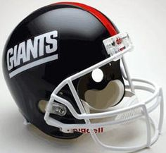 New York Giants 1981 to 1999 Full Size Replica Throwback Helmet - Sports Integrity