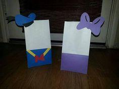 18 bolsas de Favor fiesta Mickey Mouse Clubhouse