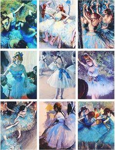 Edgar Degas Ballerina rainbow