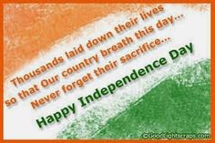 """very short speech about indipendence day Independence day plays a very important role on this day, jawaharlal nehru delivered a speech """"tryst with land reforms in india after independence – short."""
