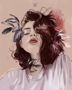 Find images and videos about art and illustration on We Heart It - the app to get lost in what you love. Art And Illustration, Illustrations, Cute Art, Pretty Art, Art Sketches, Art Drawings, Arte Sketchbook, Digital Art Girl, Anime Art Girl