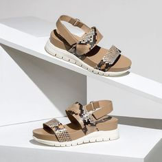 Float through summer wearing 'GARDNER' from Gadea. Made in Spain.