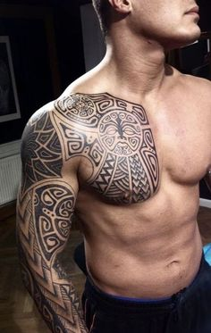 amazing+tattoo+ideas+for+men+on+arm+and+chest.jpg 580×919 pixels
