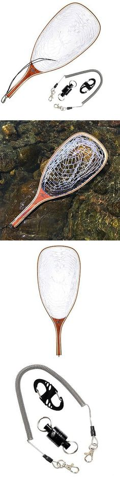 Fly Fishing Accessories 87098: Sf Fly Fishing Landing Soft Rubber Mesh Trout Catch And Release Net Square Head -> BUY IT NOW ONLY: $53.99 on eBay!