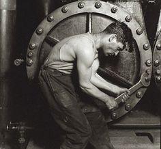 """Lewis Hine- """"Men at Work"""""""