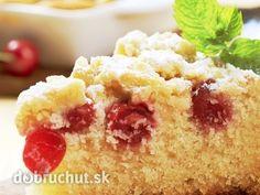 Kysnutý čerešňový koláč