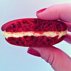 Galletas, tartas y cupcakes zaragoza: RED VELVET WHOOPIE PIES