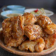 Japanese House, Japanese Food, Home Recipes, Asian Recipes, Honey Mustard Chicken, Daily Meals, Food Dishes, Chicken Wings, Food And Drink
