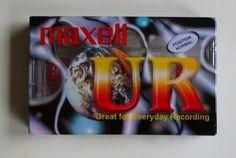 1 audio cassette / maxell UR normal 90 / 1 Audiokassette / Leerkassette