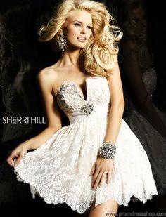 Sherri Hill Short 2954 at Prom Dress Shop