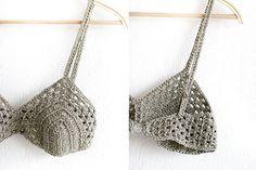 Festival crochet top bra Boho chic Bikini Top Crop top por MarryG