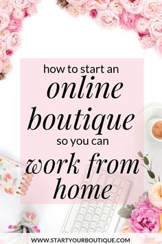 Want to work from home . but not on the phone? Then start an online boutique! Save this pin then click through to learn how to start an online boutique business. You can launch a professional business in just 3 months! Make Money From Home, Way To Make Money, Make Money Online, How To Make, Microsoft Word, Business Marketing, Online Business, Etsy Business, Starting An Online Boutique