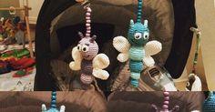 Jeg har med stor inspiration fra nettet udarbejdet min egen opskrift på disse bier/sommerfuglelarver/insekter you name it :-) Mate...