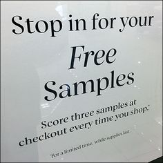 Three-Free-Samples Framed Invitation – Fixtures Close Up Free Cosmetic Samples, Free Samples, Retail Fixtures, Clear Acrylic, Close Up, Sephora, Invitations, Personalized Items, Frame