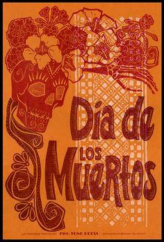 Dia de los Muertos : Orange