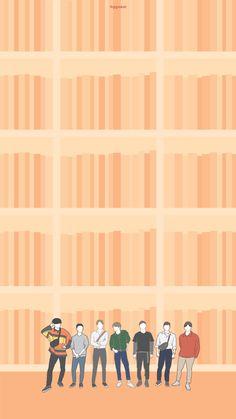 K Wallpaper, Disney Wallpaper, Homescreen Wallpaper, Phone Wallpapers, Suho Exo, Exo K, Exo Stickers, Exo Anime, Exo Album