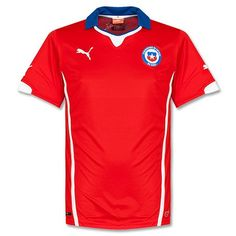 Camiseta de Chile 2014-2015 Local Seleccion Nacional e43fa530b0fb4