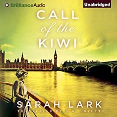 """Another must-listen from my #AudibleApp: """"Call of the Kiwi: In the Land of the Long White Cloud, Book 3"""" by Sarah Lark, narrated by Anne Flosnik."""