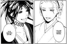 Tenka and Shirasu