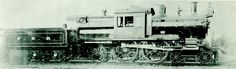 #698 Pennsylvania Railroad Class E1 4-4-2 camelback. One of three built Juniata 1899. Wide firebox is not a Wooten design. In true PRR fashion they built it their way.