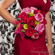 The Nosegay Florist - Red and Pink wedding flowers.  © 2013 Uncorked Studios, LLC - Destination & Philadelphia Pennsylvania Wedding Photographer