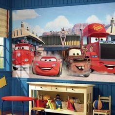Disney∙Pixar Cars Friends to the Finish XL Wallpaper Mural 10.5' x 6'