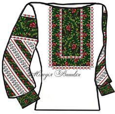 Заготовка для вишивки жіночої сорочки (СЖ-108)