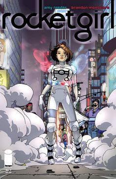 Rocket Girl 5. Dropping this one, at the end of the first arc. Great arc, uneven storytelling. Read 07/23/14