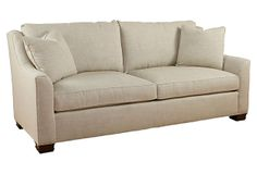 "Caelan 87"" Winged-Arm Sofa on OneKingsLane.com"