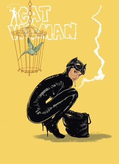 Batman: Catwoman by Dave Seguin Batman 1, Batman And Catwoman, Batgirl, Joker, Gotham Batman, Superman, Arte Dc Comics, Dc Comics Art, Comics Girls