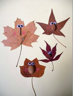 5 Autumn Crafts for Kids - Petit & Small