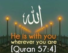 Allah is with us