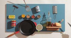 Magic-Wall-Kitchen-Organizer, organizador-de-cozinha, utensilios-guardados, garfos-facas-talheres, panelas-organizar, como-organizar-cozinha, por-que-nao-pensei-nisso 1