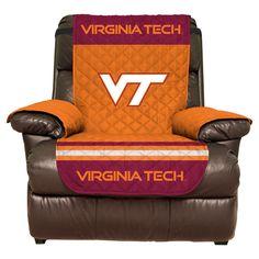 NCAA Virginia Tech Hokies Recliner Protector