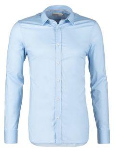 Pier One SLIM FIT - Zakelijk overhemd - light blue - Zalando.nl