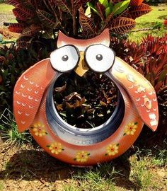 Creativity is endless with old tires!