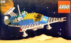 LEGO 918-1: One Man Space Ship | Brickset: LEGO set guide and database