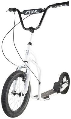 STIGA Air Scooter Potkulauta 16 tuumaa, Valkoinen