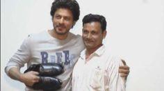 Watch   'Jabra Fan' gifts SRK shoes