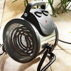 A powerful and energy efficient electric greenhouse heater from Bio Green, ideal for controlling greenhouse temperature with 2kW output.