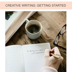 CREATIVE WRITING: GETTING STARTED | Compelled to write but not sure where to begin? Wish to free your imagination and let your writing flow? Perhaps you'd like to write a novel, enhance your blog posts, or develop a portfolio of work?